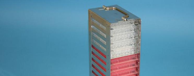MTP Cryo dikey rack  86x128 mm