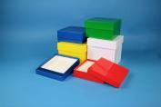 Cryo boxes made of cardboard