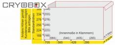 Alpha caisse de placard 142/284 mm