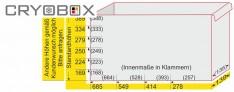 EPPI® caisse de placard 139/278 mm