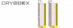 MTP Cryo dikey rack 18 mm yüksek