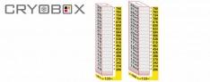 MTP Cryo dikey rack 26 mm yüksek