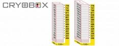 MTP Cryo dikey rack 33 mm yüksek