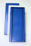 Obi Kryobox 50 / 50 Fächer, blau, Höhe 35 mm fix