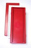 Obi 50 Kryobox (PS) 50 Fächer, rot, Höhe 35 mm fix