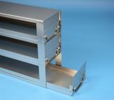 ALPHA Schrankeinschub 110, für 15 Kryoboxen bis 136x136x113 mm